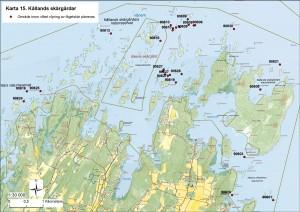 Karta 15 - Kållands skärgårdar