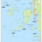 Karta 8 - Kristinehamns skärgård öst