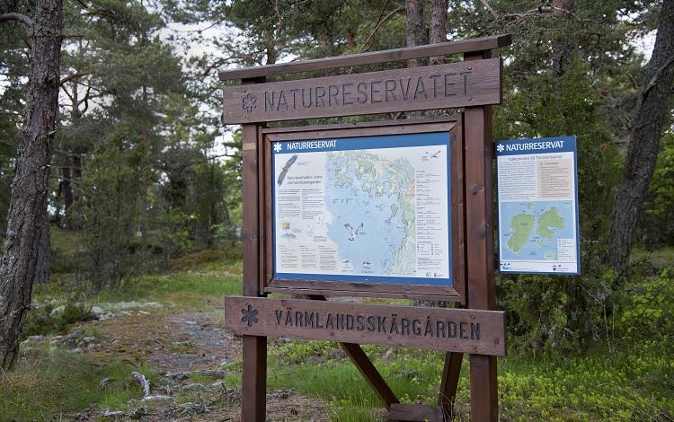 Naturreservat Värmlandsskärgården. Foto: Mikael Solebris