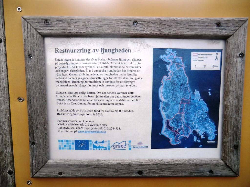 Information om ljungbränningarna på Rörö