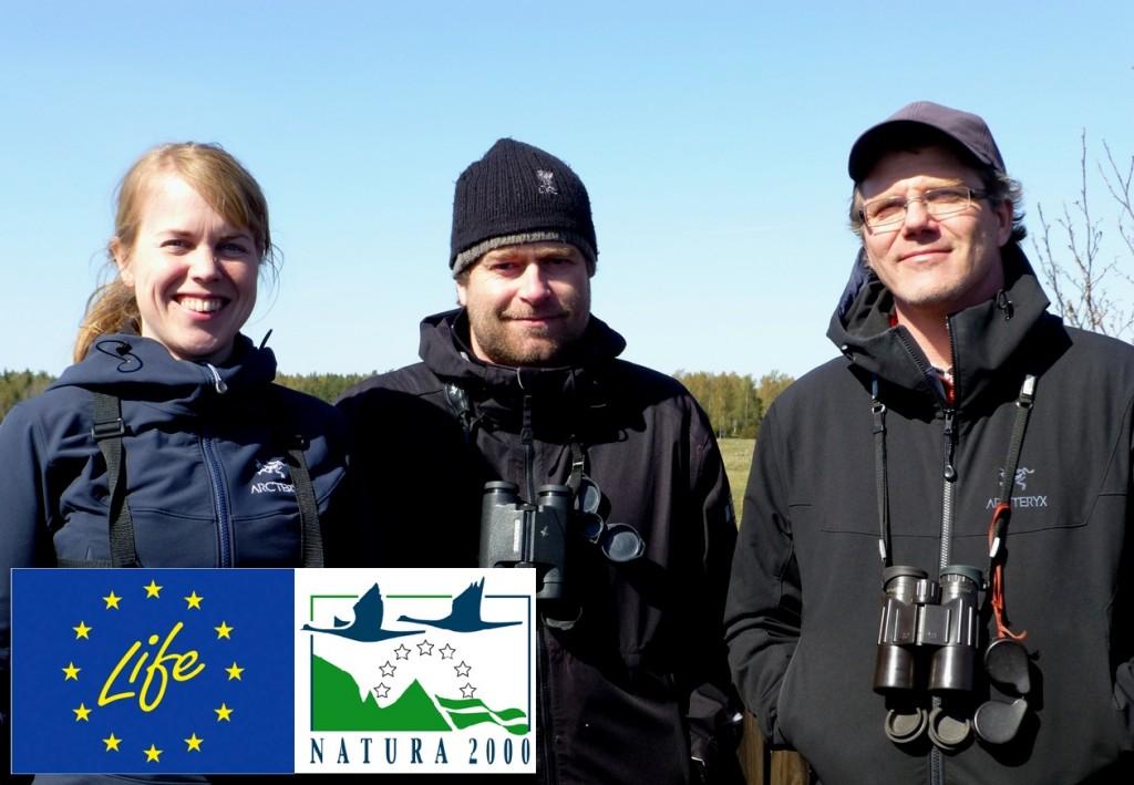 Projektledarna Jenny, Peter och Gunnar