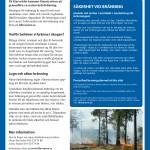 Den första naturvårdsbränningen sker på Harvelsön
