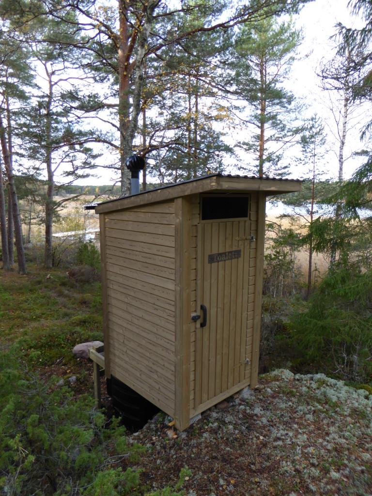 Komposteringstoalett vid Östra Moviken